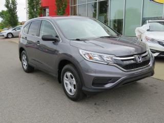 Used 2016 Honda CR-V LX TRACTION AVANT jamais accidentée for sale in Quebec, QC