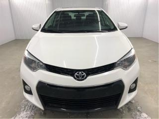Used 2016 Toyota Corolla S Cuir/Tissus Toit Ouvrant MAGS Bluetooth for sale in St-Eustache, QC