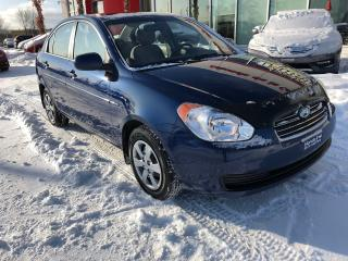 Used 2011 Hyundai Accent GL AUTOMATIQUE JAMAIS ACCIDENTÉ for sale in Quebec, QC