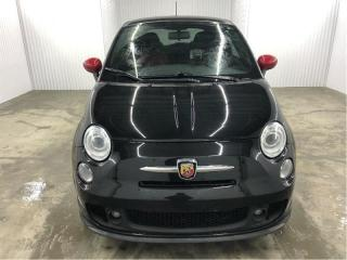 Used 2012 Fiat 500 Abarth Turbo Cuir MAGS *Bas Kilométrage* for sale in St-Eustache, QC
