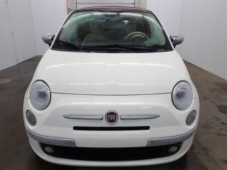 Used 2015 Fiat 500 C Convertible Lounge Cuir MAGS for sale in St-Eustache, QC