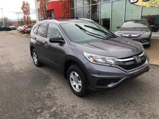 Used 2016 Honda CR-V LX GARANTIE COMPLÈTE DE 7 ANS 160000KM for sale in Quebec, QC