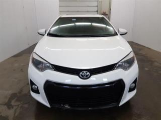 Used 2015 Toyota Corolla S Toit Ouvrant Mags Cuir/Tissus Bluetooth for sale in St-Eustache, QC