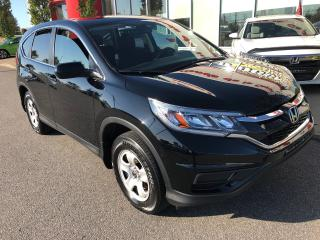 Used 2015 Honda CR-V LX TRACTION AVANT jamais accidentée for sale in Quebec, QC