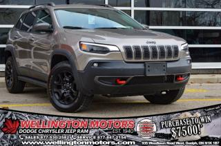 Used 2019 Jeep Cherokee Trailhawk Elite - Trailer Tow Group !! for sale in Guelph, ON