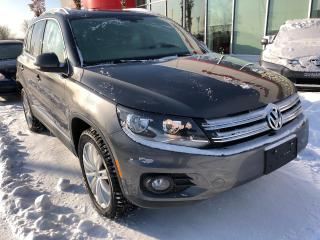 Used 2016 Volkswagen Tiguan HIGHLINE AWD JAMAIS ACCIDENTÉE! for sale in Quebec, QC