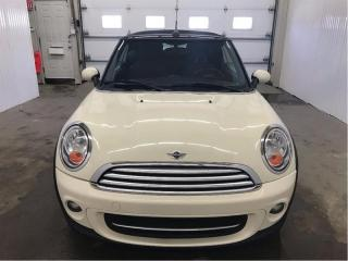 Used 2013 MINI Cooper CONVERTIBLE Cooper Cuir MAGS for sale in St-Eustache, QC