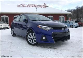 Used 2016 Toyota Corolla S for sale in Richmond, QC