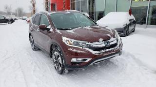 Used 2015 Honda CR-V Touring LE PLUS LUXUEUX  DES CR-V! for sale in Quebec, QC