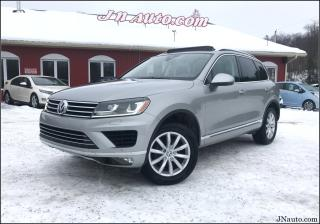 Used 2016 Volkswagen Touareg V6 comfortline, tech pack!! for sale in Richmond, QC