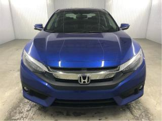 Used 2016 Honda Civic Touring GPS Cuir Toit Ouvrant MAGS for sale in St-Eustache, QC