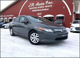 Used 2012 Honda Civic 1.8L for sale in Richmond, QC