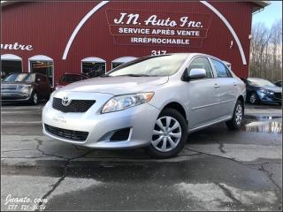 Used 2010 Toyota Corolla CE for sale in Richmond, QC