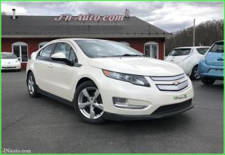 Used 2014 Chevrolet Volt Électrique + essence, cuir, cam recul for sale in Richmond, QC