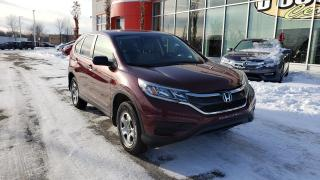 Used 2016 Honda CR-V LX AWD BAS KILOMÉTRAGE for sale in Quebec, QC