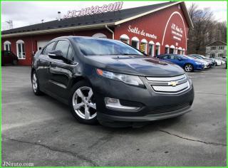 Used 2014 Chevrolet Volt Electrique+ essence, gps + système de son bose, sièges chauffants for sale in Richmond, QC