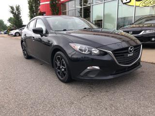 Used 2016 Mazda MAZDA3 GX MANUELLE JAMAIS ACCIDENTÉE for sale in Quebec, QC