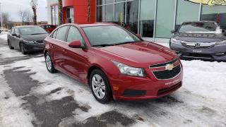 Used 2013 Chevrolet Cruze LT Turbo AUTOMATIQUE JAMAIS ACCIDENTÉE for sale in Quebec, QC