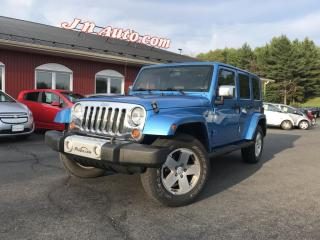 Used 2010 Jeep Wrangler Trail rated 4x4, surplus de 775$ pour 4 jantes et 4 pneus d`hiver! for sale in Richmond, QC