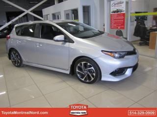 Used 2017 Toyota Corolla iM iM CVT Mags Bluetooth Camera recul for sale in Montréal-Nord, QC