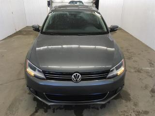 Used 2013 Volkswagen Jetta TDI Highline Cuir Toit Ouvrant MAGS for sale in St-Eustache, QC