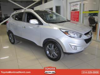 Used 2015 Hyundai Tucson GLS AWD CUIR | TOIT | B.CHAUF for sale in Montréal-Nord, QC