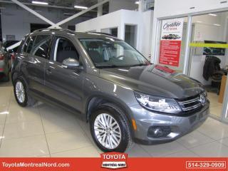 Used 2016 Volkswagen Tiguan Édition spéciale 4MOTION Bluetooth/Camér for sale in Montréal-Nord, QC