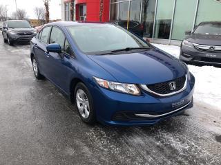 Used 2015 Honda Civic LX FIABILITÉ ET ÉCONOMIE D'ESSENCE! for sale in Quebec, QC