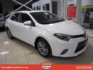 Used 2015 Toyota Corolla LE CVT GR. AMELIORE Toit+Mags for sale in Montréal-Nord, QC