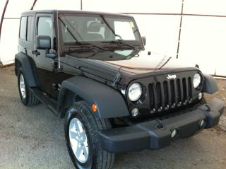 Used 2015 Jeep Wrangler Sport BLACK 3 PIECE HARD TOP, AIR CONDITIONING, 17