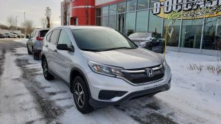Used 2016 Honda CR-V LX AWD JAMAIS ACCIDENTÉE! for sale in Quebec, QC