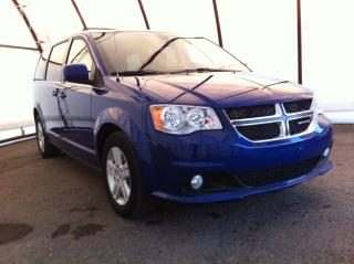 Used 2018 Dodge Grand Caravan Crew CREW PLUS, NAVIGATION, POWER DOOR GROUP, HEATED LEATHER SEATING for sale in Ottawa, ON