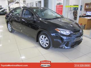 Used 2016 Toyota Corolla LE CVT AUT/AC/VI for sale in Montréal-Nord, QC
