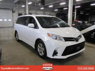 Used 2019 Toyota Sienna LE FWD AUTO/8 PASS /A/C/ GR ELECT CAMERA for sale in Montréal-Nord, QC