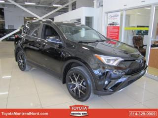 Used 2018 Toyota RAV4 SE AWD CUIR+TOIT+GPS for sale in Montréal-Nord, QC