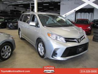 Used 2019 Toyota Sienna LE FWD AUTO/8 PASS /A/C/ GR ELECT/ CAMER for sale in Montréal-Nord, QC