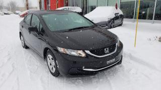 Used 2014 Honda Civic LX AUTOMATIQUE JAMAIS ACCIDENTÉ for sale in Quebec, QC