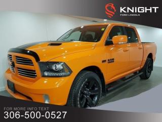Used 2017 RAM 1500 SPORT for sale in Moose Jaw, SK