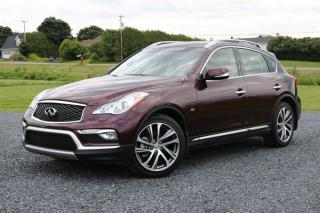 Used 2017 Infiniti QX50 AWD for sale in St-Isidore, QC