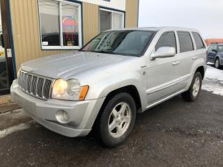 Used 2005 Jeep Grand Cherokee Limitée + hemi v8 for sale in Mirabel, QC