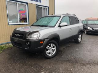 Used 2007 Hyundai Tucson GL + AWD for sale in Mirabel, QC