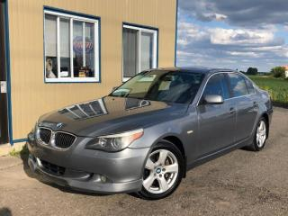 Used 2008 BMW 5 Series 528xi for sale in Mirabel, QC