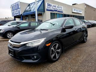 Used 2017 Honda Civic Touring TOURING|NAVI|LEATHER|CAMERA|CERTIFIED for sale in Concord, ON