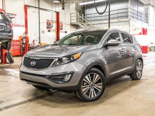 Used 2016 Kia Sportage **EX LUXURY+GPS+CUIR+TOIT+GARANTIE 10ANS/200,000KM **EX LUXURY+GPS+CUIR+TOIT+GARANTIE 10ANS/200,000KM for sale in Laval, QC