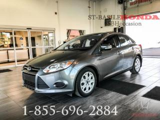 Used 2014 Ford Focus FORD FOCUS + BAS KILO + ECONOMIQUE + SIE for sale in St-Basile-le-Grand, QC