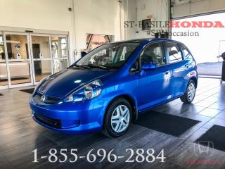 Used 2007 Honda Fit LX + MANUELLE + BAS KILO + WOW!! for sale in St-Basile-le-Grand, QC