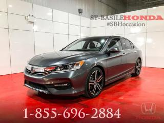 Used 2016 Honda Accord SPORT + SENSING TECH + TOIT OUVRANT + WO for sale in St-Basile-le-Grand, QC