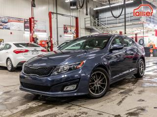 Used 2014 Kia Optima ***EX TOIT PANO+CUIR+GARANTIE 10ANS/200,000KM+WOW! ***EX TOIT PANO+CUIR+GARANTIE 10ANS/200,000KM+WOW! for sale in Laval, QC
