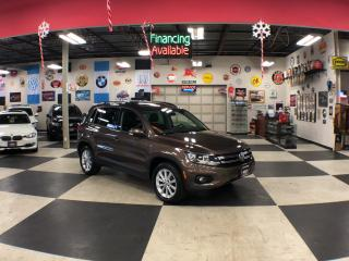 Used 2015 Volkswagen Tiguan 2.0TSI COMFORTLINE AUT0 AWD LEATHER PANO/ROOF 134K for sale in North York, ON