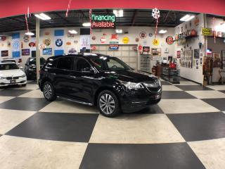 Used 2016 Acura MDX SH-AWD TECH PKG 7 PASS NAVI LEATHER SUNROOF CAMERA 97K for sale in North York, ON
